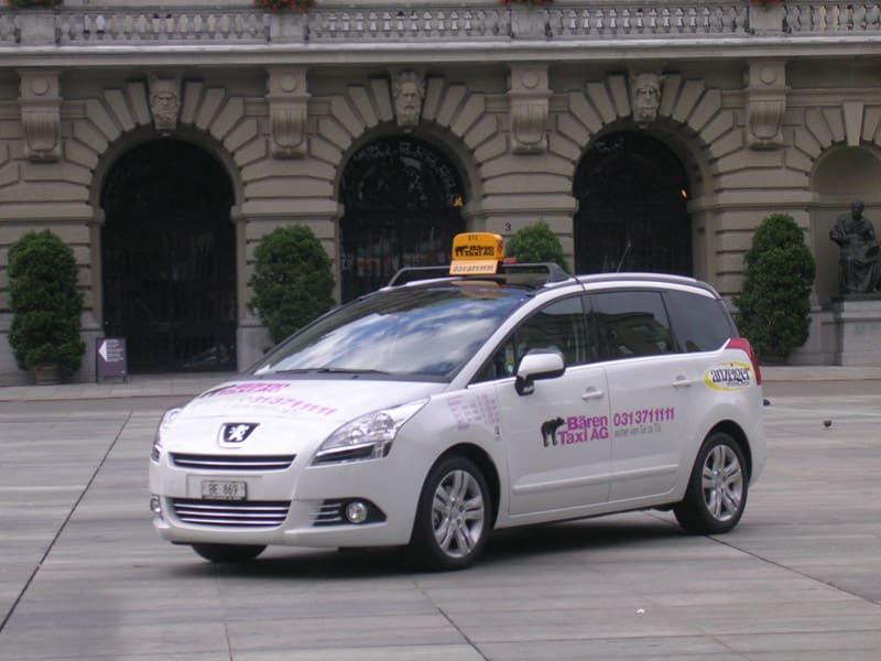 táxi na suíça