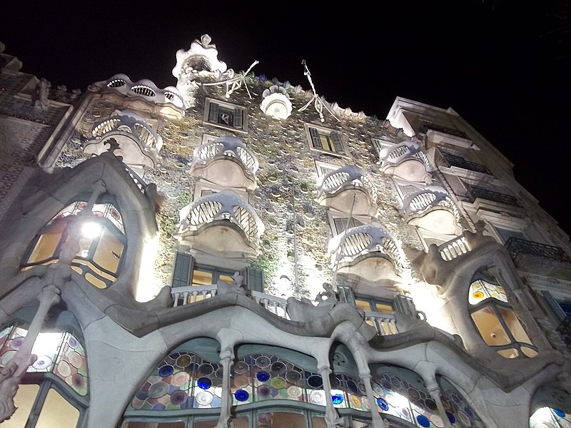 Casa Batlló a noite