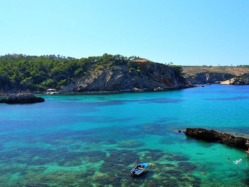 praias mais lindas de Ibiza