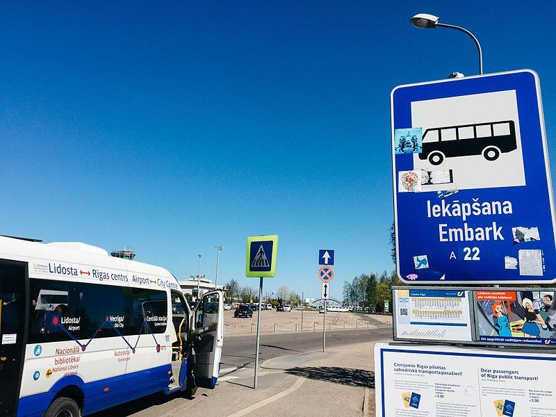 Transporte em Riga