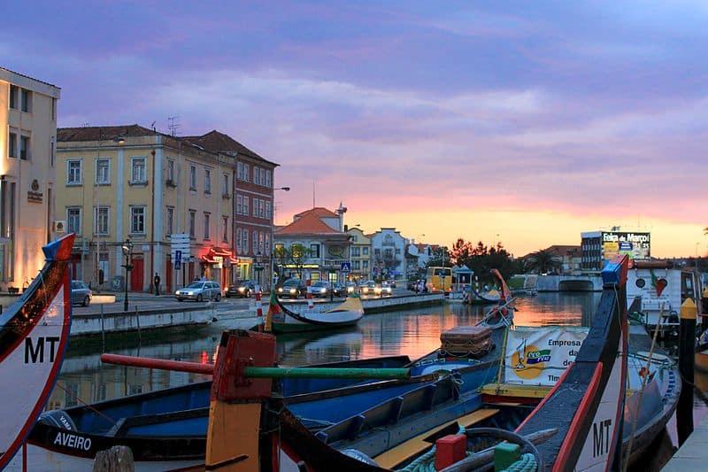 Pontos turísticos de Aveiro