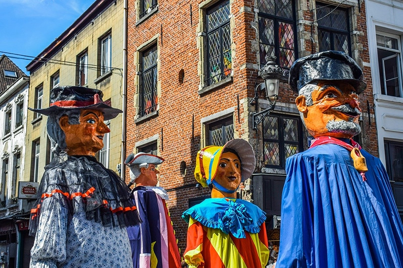 Festival de cultura em Bruxelas