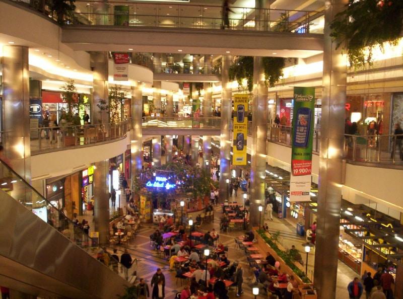 Shopping WestEnd em Budapeste