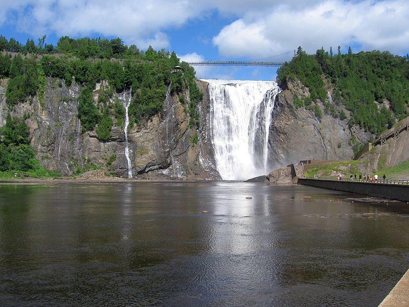 Cachoeiras no Canadá