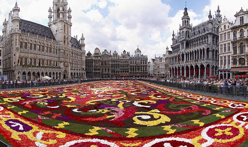 Tapete de Flores Bélgica