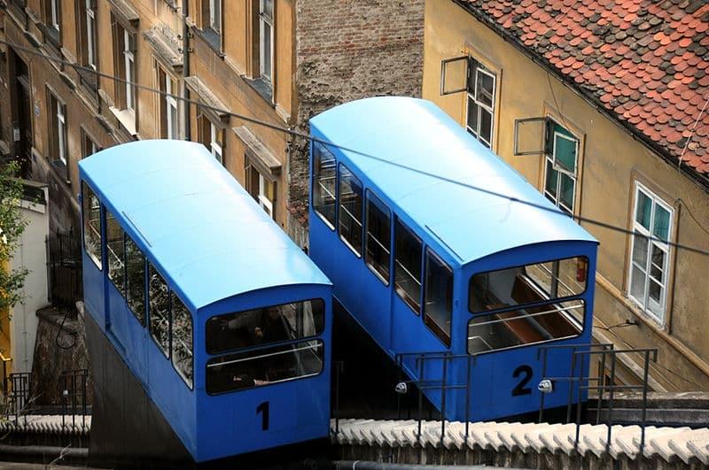 Passeio de funicular Zagreb