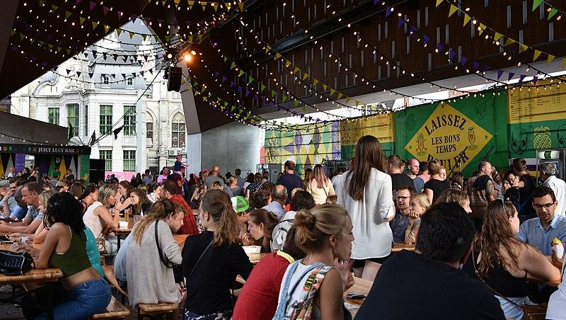 Festivais culturais Bélgica