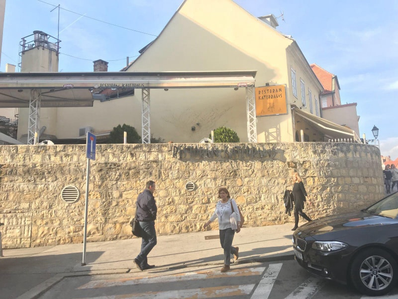 Restaurante Katedralis em Zagreb