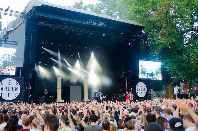 Bélgica no Verão