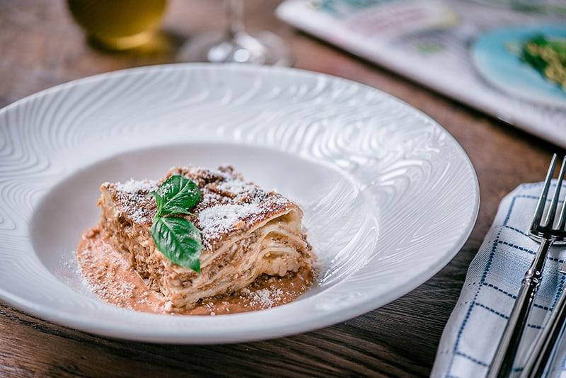 Comida italiana em Riga