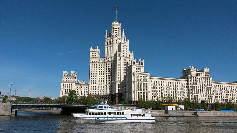 Moscou passeio de barco
