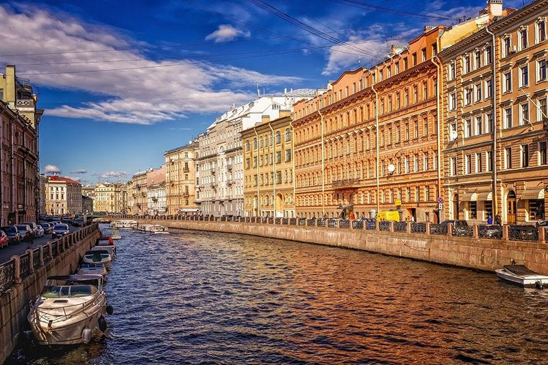 Roteiro diferente na Europa em São Petersburgo