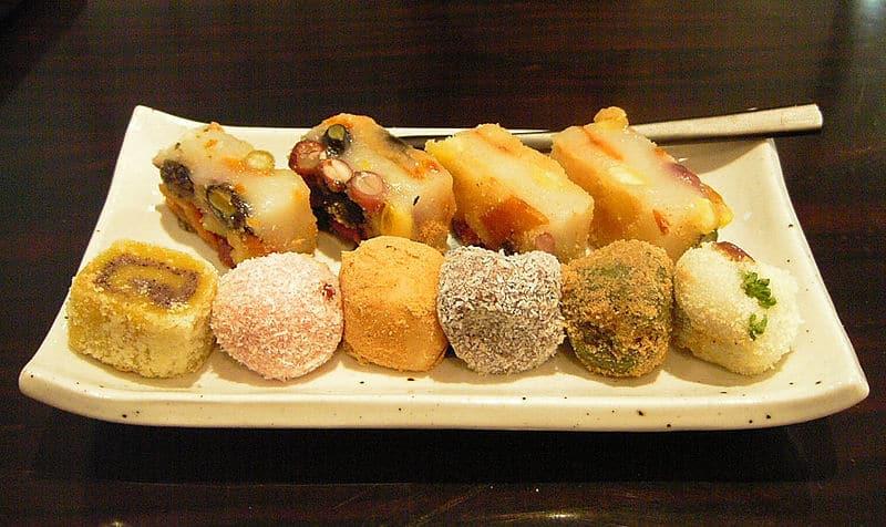 Comidas típicas da Coreia doces