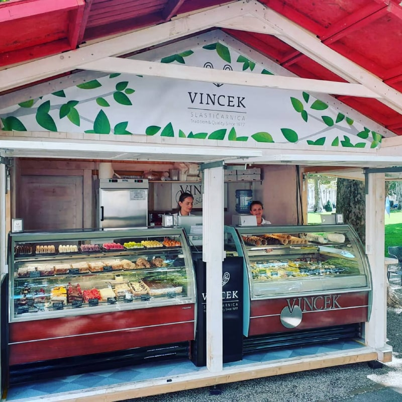 Sobremesas no Vincek