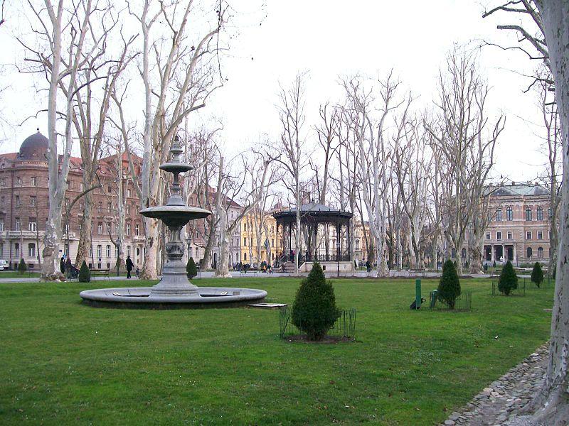 Parques em Zagreb