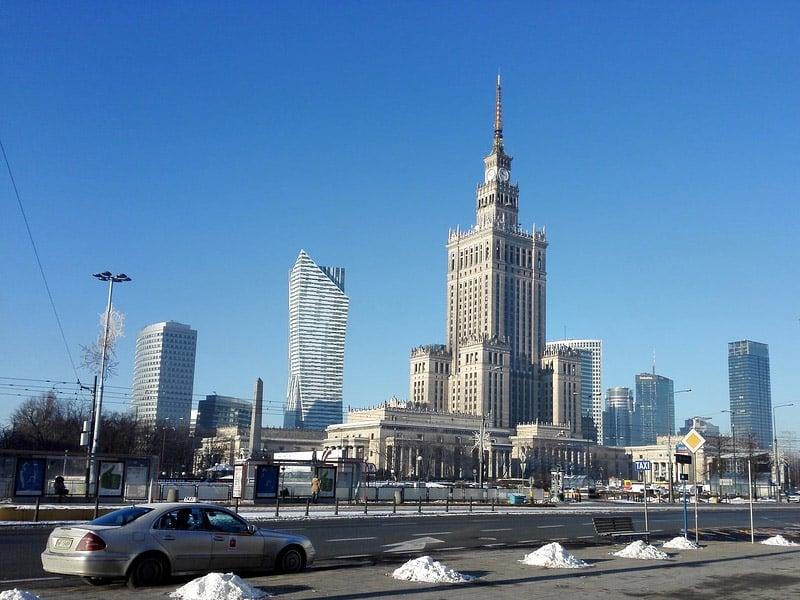 varsóvia pontos turísticos