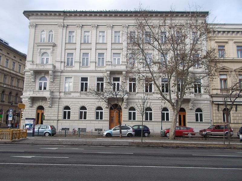 Avenida Andrassy em Budapeste