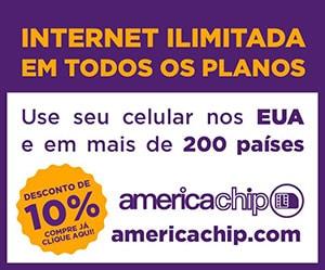 Chip internacional em promoção
