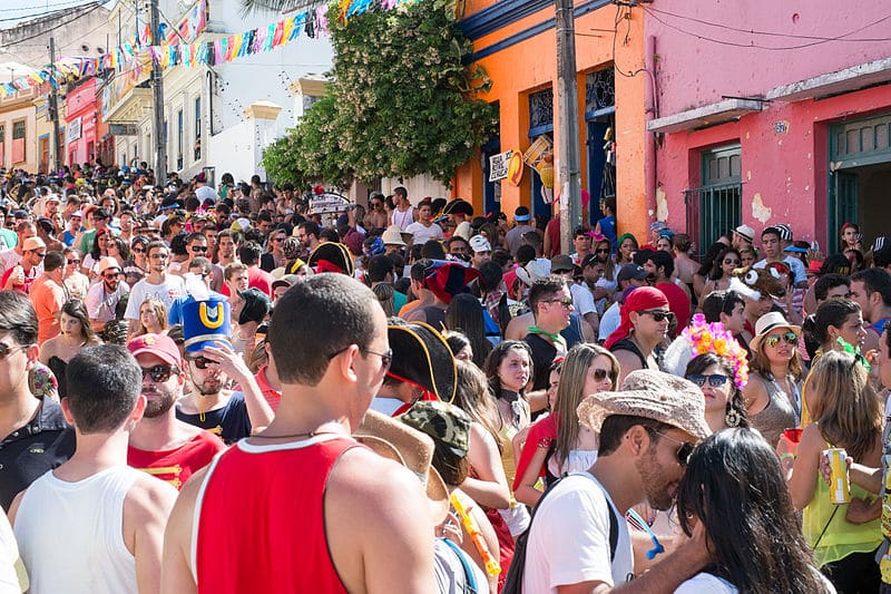 melhores festas no Carnaval de Olinda