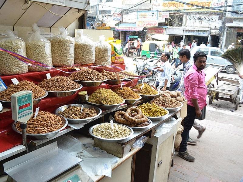 ruas famosas em nova delhi