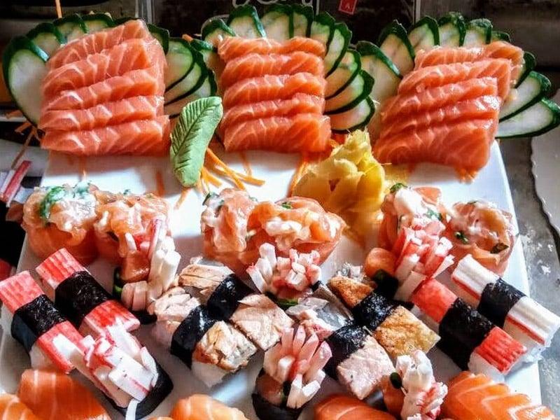Restaurante japonês em Paraty