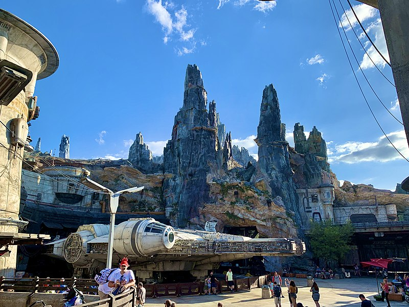 star wars disney park opening
