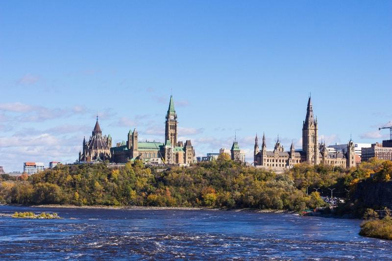 Excursões saindo de Nova York para Ottawa