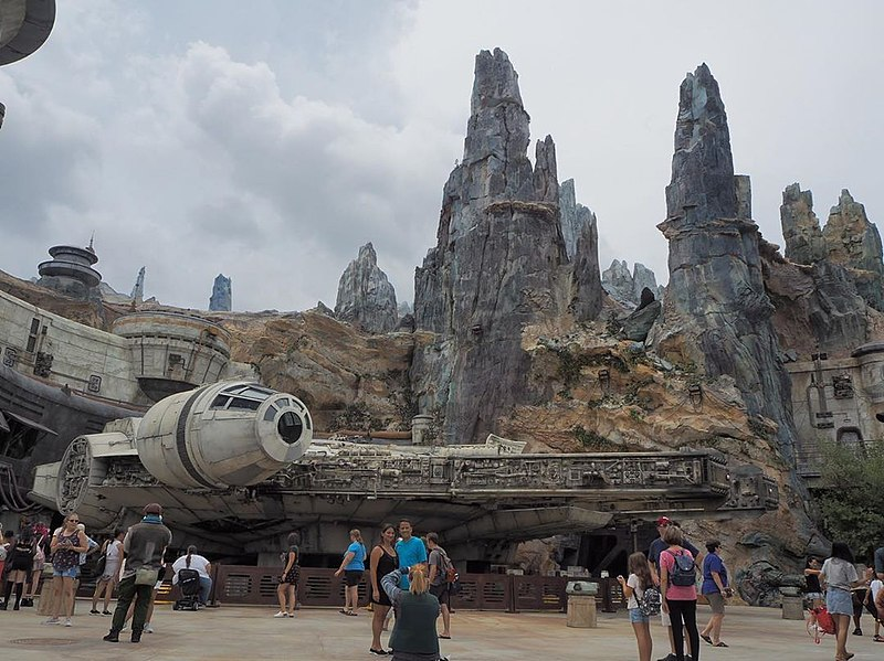 Parque do Star Wars na Disney