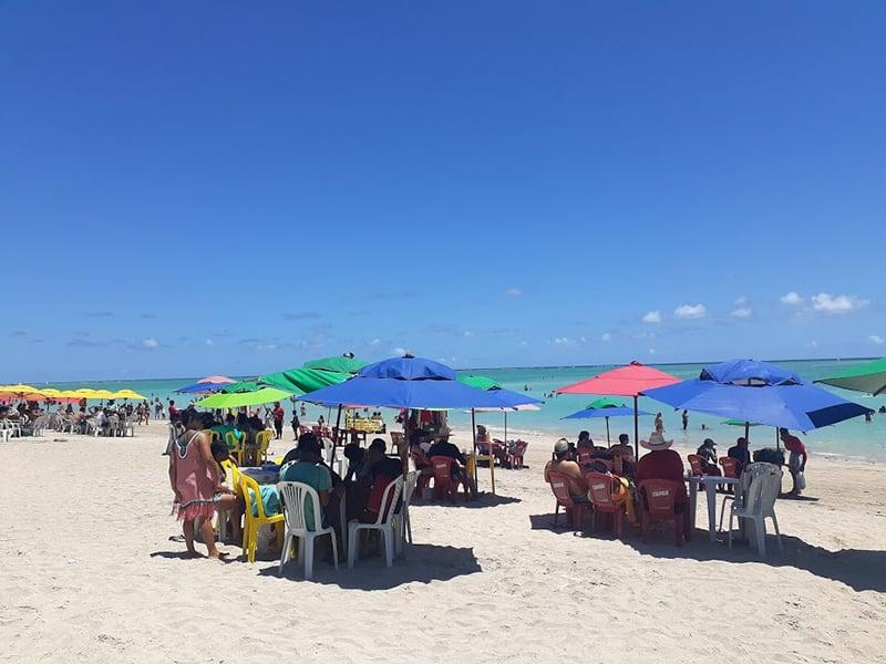 praias em Alagoas