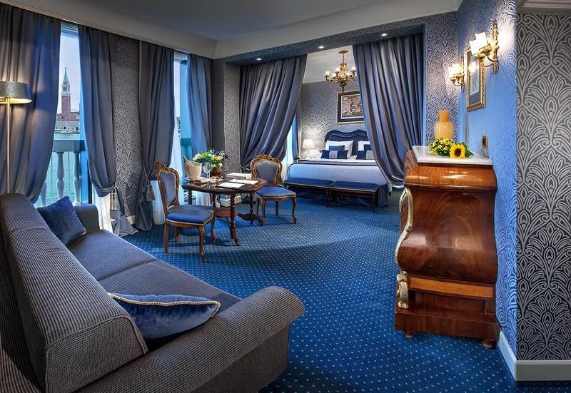 Hotéis em Veneza com decoração bonita