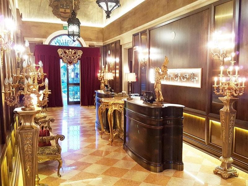 Hotéis em Veneza mais luxuosos