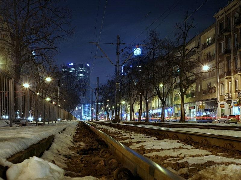 inverno em varsóvia