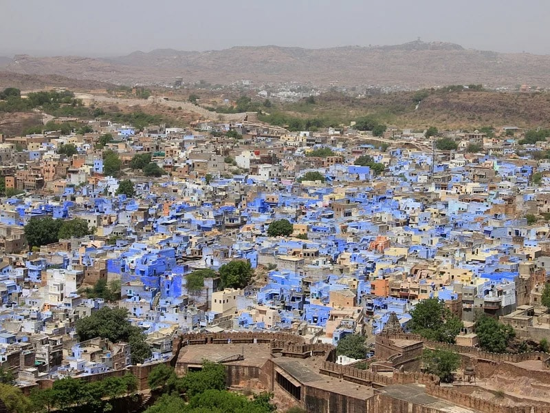 cidade azul índia