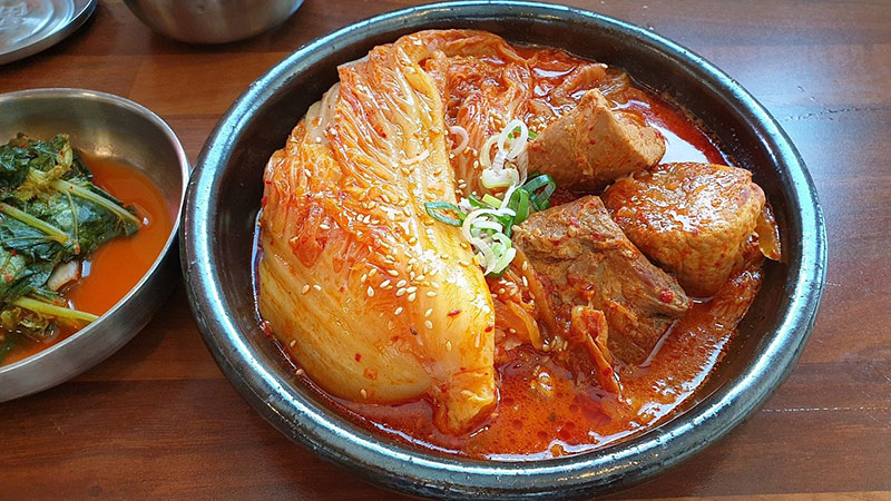 comida coreana kimchi