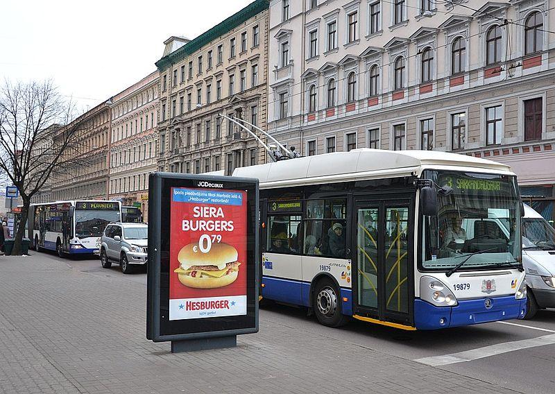 Transporte na Letonia