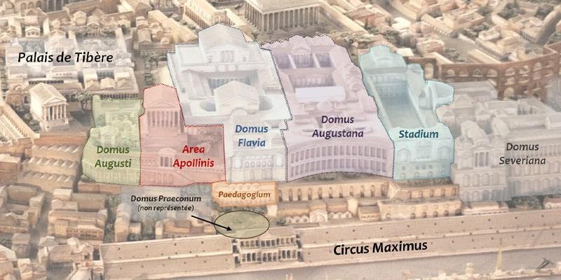 Mapa da atração