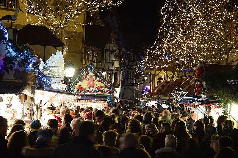 Mais conhecidos marchés de Noël na França
