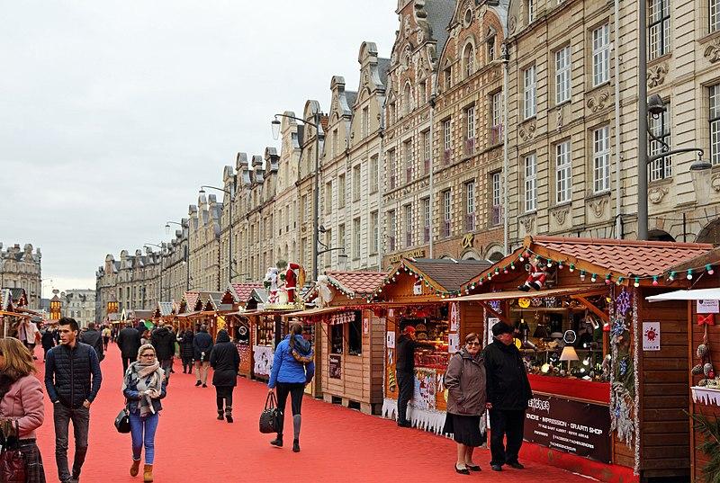 Marchés de Noël na França divertidos
