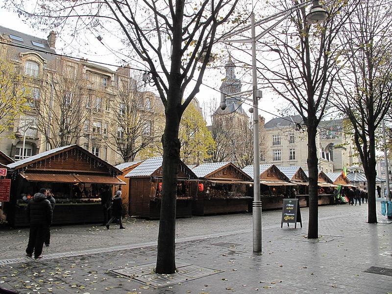 Mercados de Natal na França