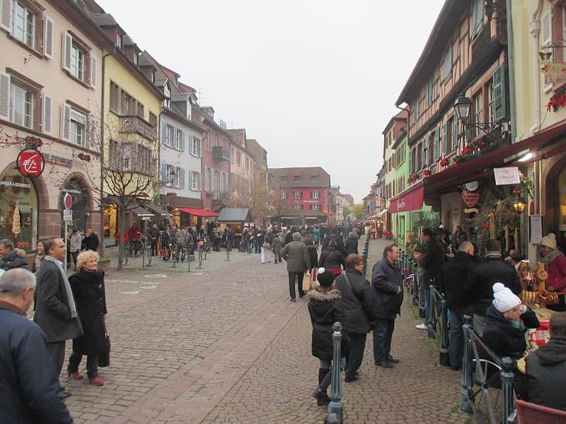 Marchés de Noël na França para turistas