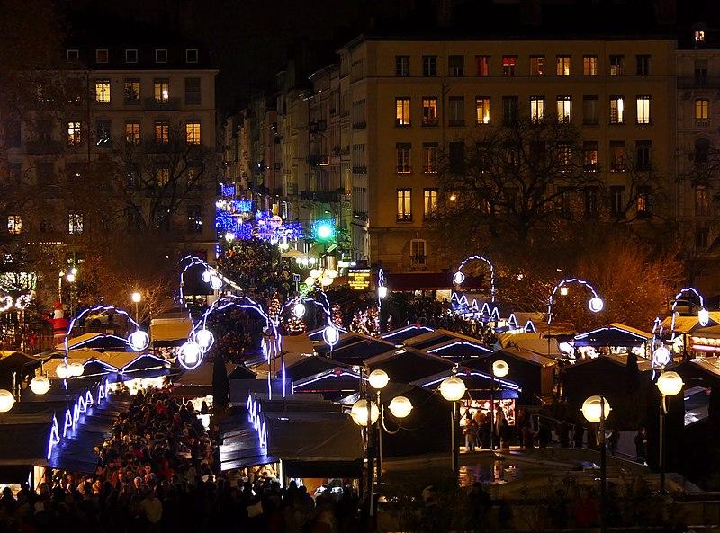 Marchés de Noël na França mais legais e bonitos