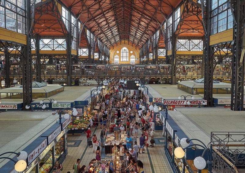 Mercado Central em Budapeste