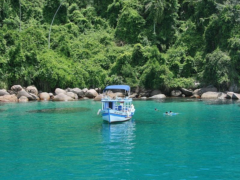 Lagoa azul Paraty