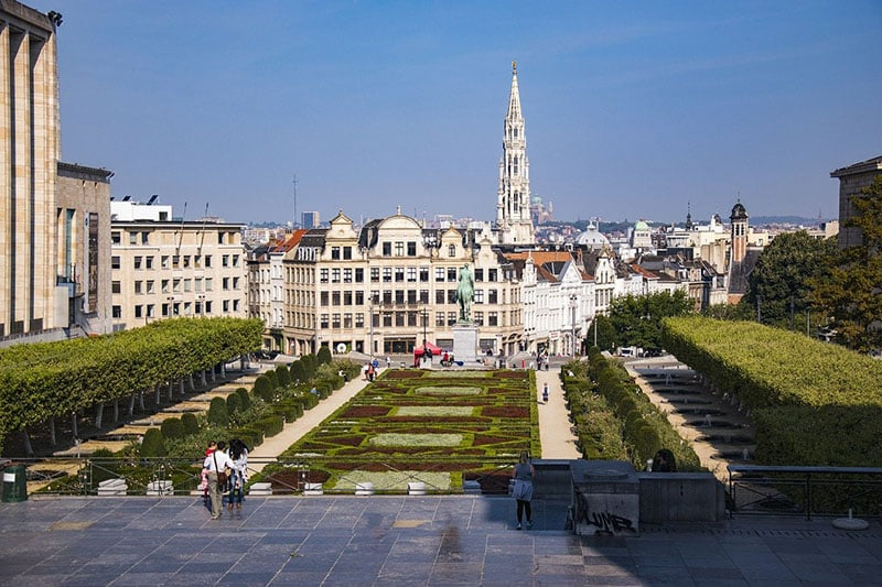 Pontos turísticos da Belgica