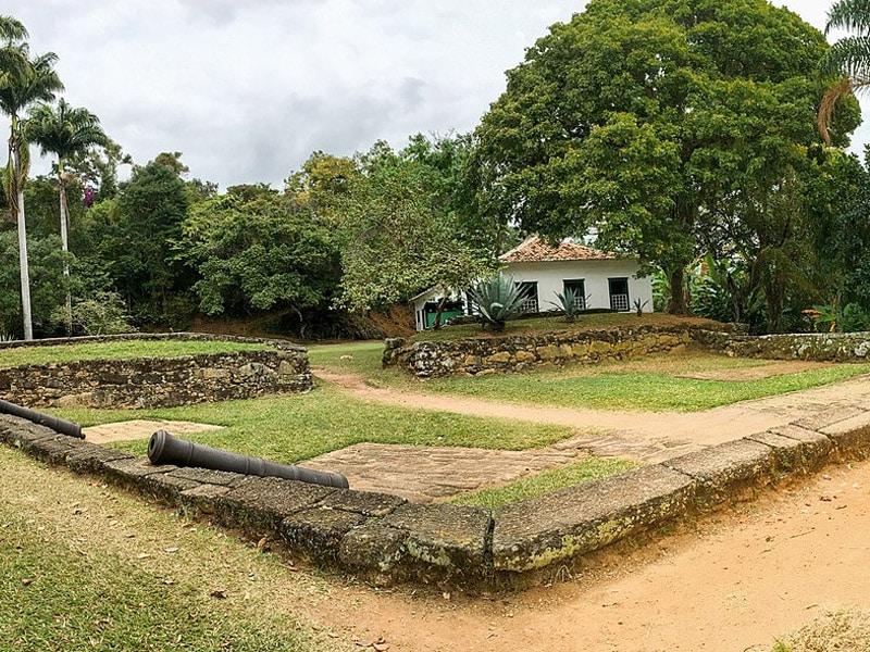 Lugares históricos em Paraty