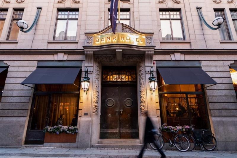 Hotéis em Estocolmo Bank Hotel