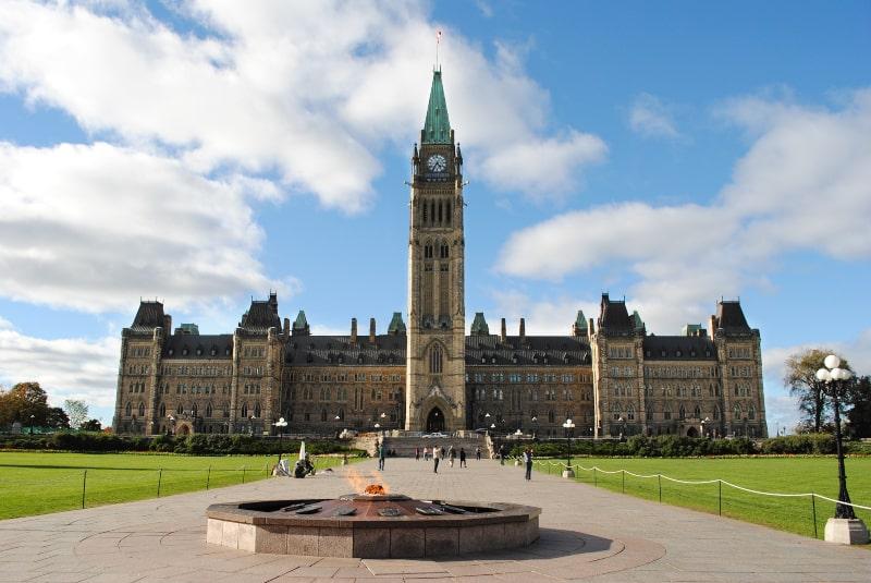 O que fazer em Ottawa com chuva