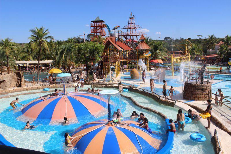 parque aquático mais visitado do Brasil