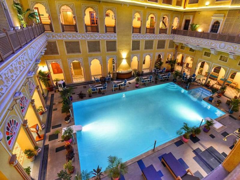 hotéis em jaipur