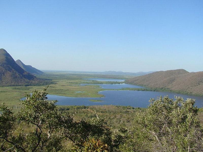 Pantanal no Mato Grosso do Sul epoca de cheia